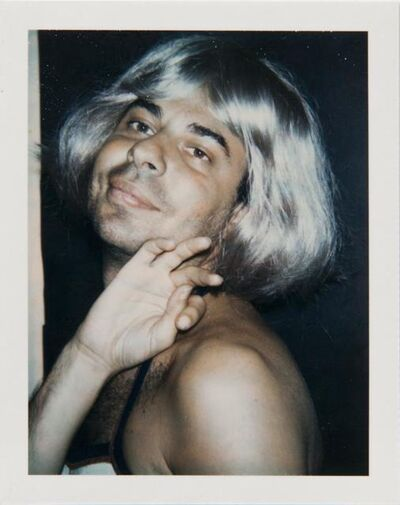 Andy Warhol, 'Andy Warhol, Polaroid Photograph of Bob Colacello in Drag, 1974', 1974