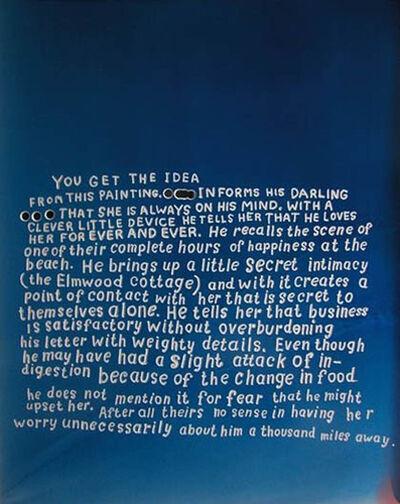 Graham Gillmore, 'Love Letter (version two)', 2006