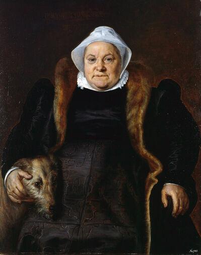 Frans Floris de Vriendt, 'Portrait d'une vieille dame (Portrait of an Elderlly Woman) ', 1558
