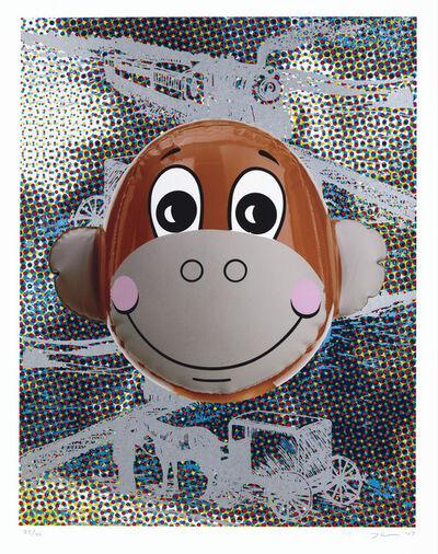 Jeff Koons, 'Monkey Train (Dots)', 2007