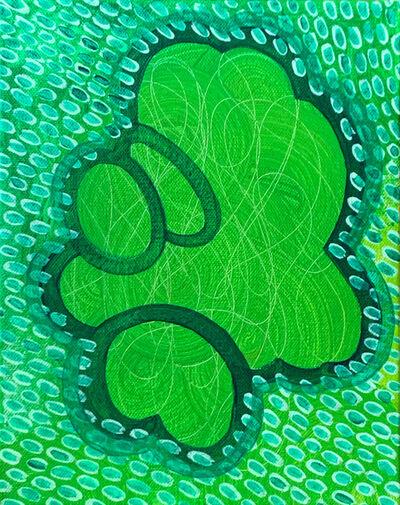 Zoë Lukas, 'Green Series: Emerald Coppice', 2016