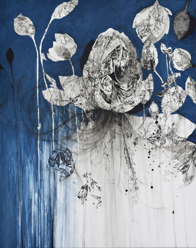 Nathalie Deshairs, 'Variation en bleu', 2019