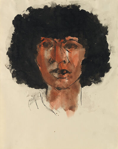 Charles Alston, 'Untitled (Head of a Woman).', circa 1970
