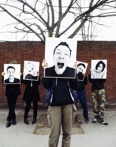 Rankin, 'Radiohead - Cut Outs', 1997