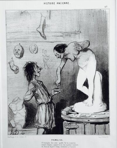 Honoré Daumier, 'Pygmalion', 1842