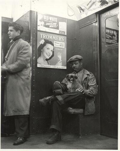 Joe Schwartz, 'Johnny Lunchbucket and Friend on the A Train, New York City', 1939