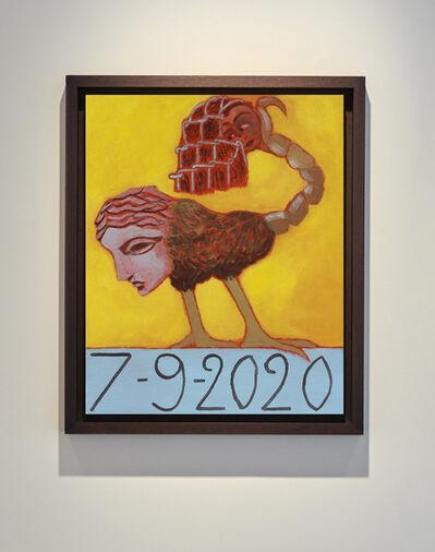 Francesco Clemente, '7/9/2020', 2020