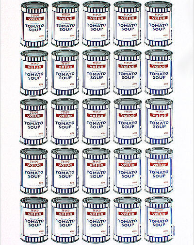 Banksy, 'Soup Cans', 2010
