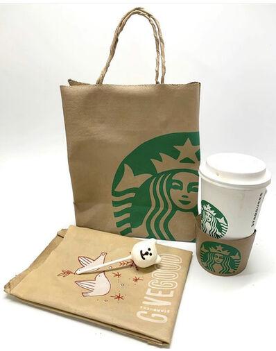 Joe Suzuki, 'Starbucks - Trompeli'oeil Series', ca. 2020