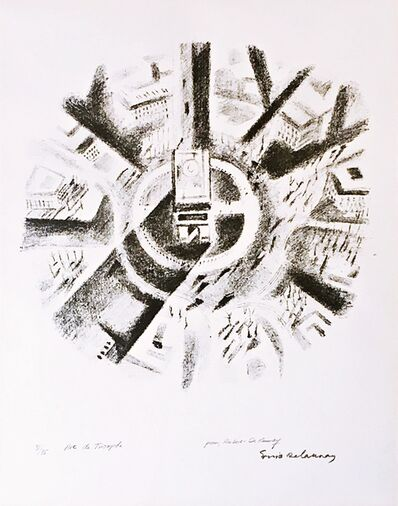 "Sonia Delaunay, 'Arc de Triomphe - ""Pour Robert Delaunay"" (dedicated to Robert Delaunay)', 1926"