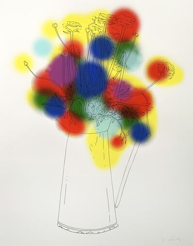 Nicolas Party, 'Flowers and a Few Colours', 2013