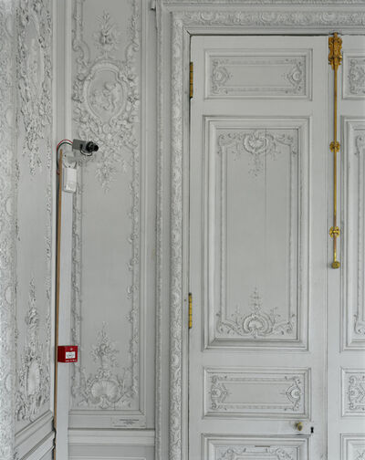 Robert Polidori, 'Security camera and boiserie detail, Grand cabinet de Madame Victoire, (54) CCE.01.052, Corps Central - R.d.C, Château de Versailles, Versailles, France Illustrated Parcours Vol.2 p. 180)', 2005