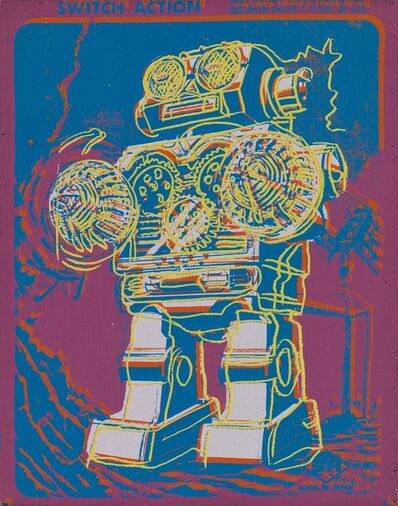 Andy Warhol, 'Robot (From toy paintings)', 1983