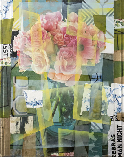Peter Hoffer, 'Arrangement With Pink Roses', 2019