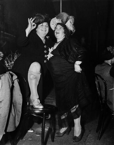 Weegee, 'At Sammy's in the Bowery', 1944/1993