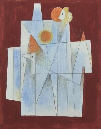 Carlos Merida, 'Proyecto Para Una Pintura', 1969