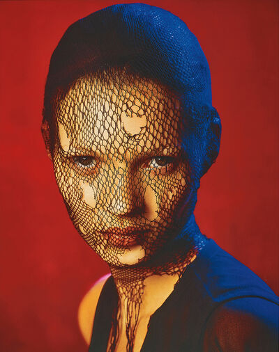 Albert Watson, 'Kate Moss in torn veil, Marrakech, for German Vogue', 1993