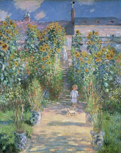 Claude Monet, 'The Artist's Garden at Vétheuil', 1880