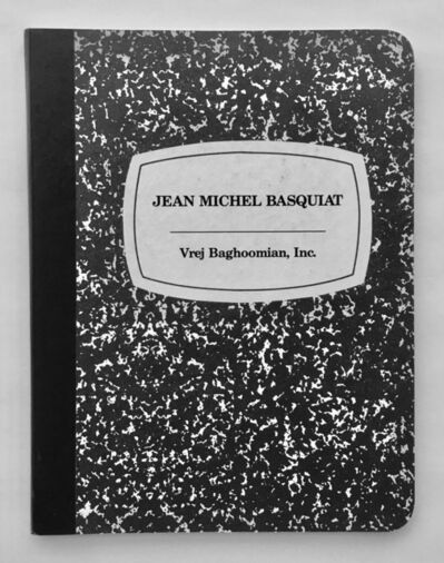 Jean-Michel Basquiat, 'Rare Vrej Baghoomian catalogue', 1989