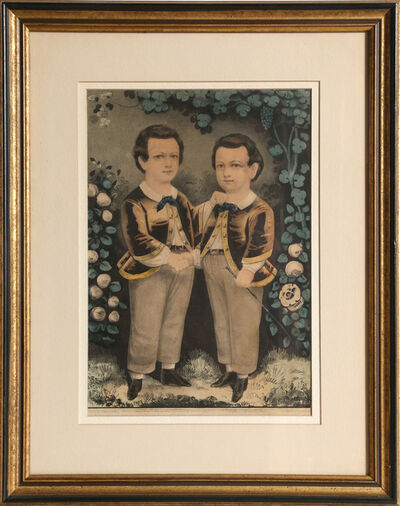 Currier & Ives, 'Two Boys', circa 1863