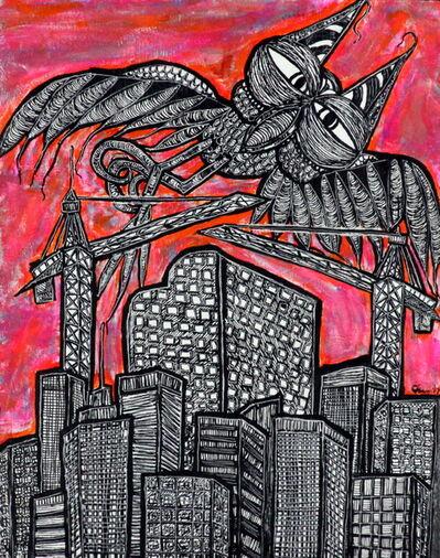 Charly Fasano, 'Birds Over New Denver', 2017