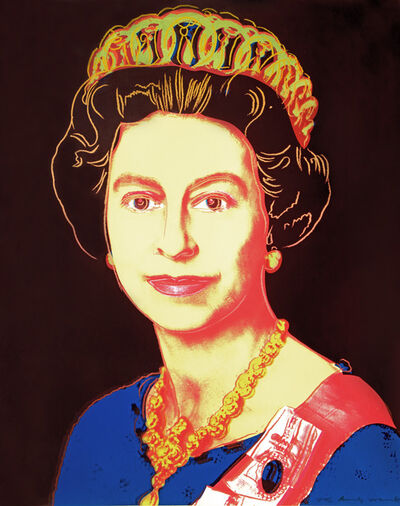 Andy Warhol, 'Queen Elizabeth II of the United Kingdom from Reigning Queens ', 1985