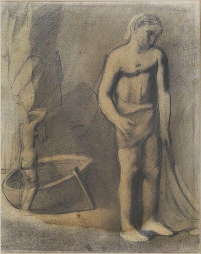 Mario Sironi, 'Fisherman', ca. 1925