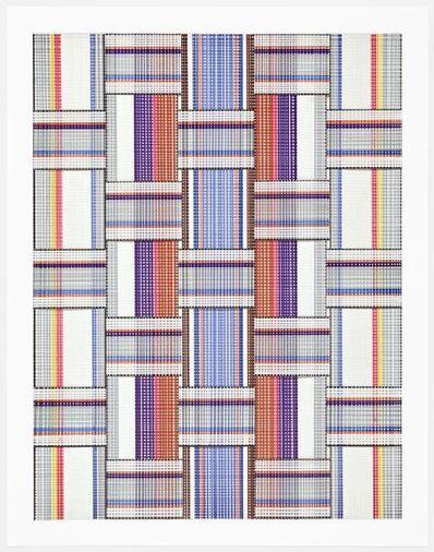 Carly Glovinski, 'Leisure Weave 5', 2017