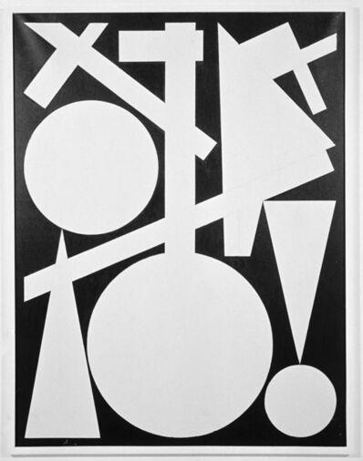 Auguste Herbin, 'Fin', 1960