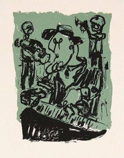 Markus Lüpertz, 'Jazz in Dreieich', 2010-2020