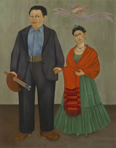 Frida Kahlo, 'Frida and Diego Rivera', 1931