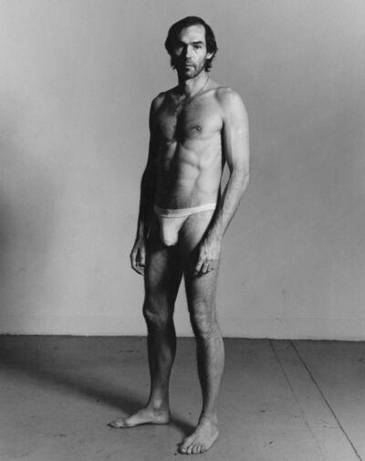 Peter Hujar, 'Self-Portrait Standing', 1980