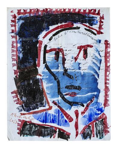 Pierre Alechinsky, 'Rides d'écritures cursives', 2013