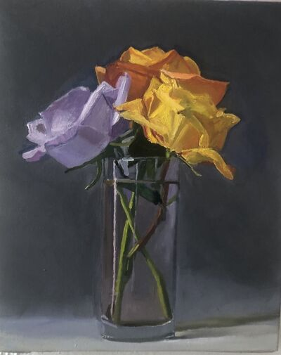Dan McCleary, 'Three Roses', 2020