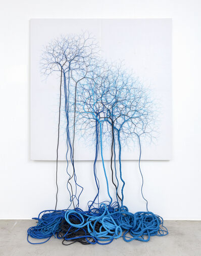 Janaina Mello Landini, 'Ciclotrama 160 (expansão) ', 2019
