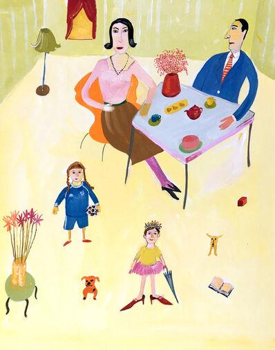 Maira Kalman, 'Family at Home', ca. 1990s