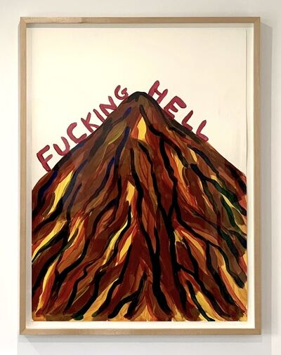 David Shrigley, 'Untitled (Fucking Hell)', 2018