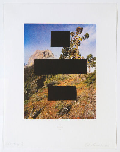 Ed Ruscha, 'Country Cityscapes, It's Payback Time', 2001