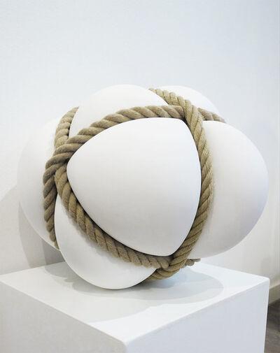 Stephan Marienfeld, 'Bondage weiß, groß', 2019