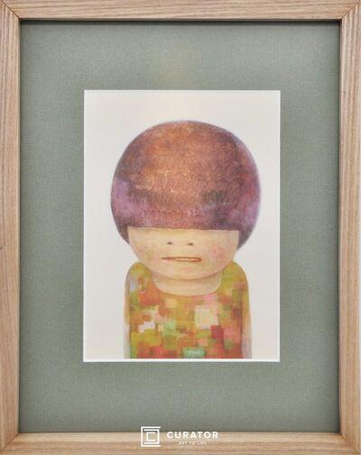 Yoshitomo Nara, 'No Mean No (Framed Official Print)', 2020