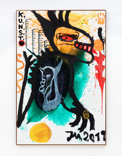 "Jonathan Meese, 'DOC ""GESCHWELLO"" IS BACK!', 2019"