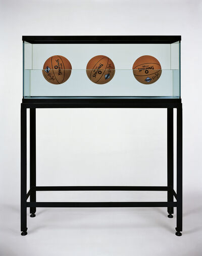 Jeff Koons, 'Three Ball 50-50 Tank (Spalding Dr. JK Silver Series)', 1985