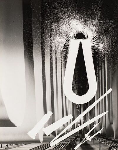 Gyorgy Kepes, 'Untitled (Magnet and objects)'