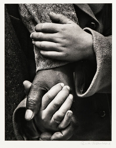 Ruth Bernhard, 'Hand in Hand', 1956-printed later