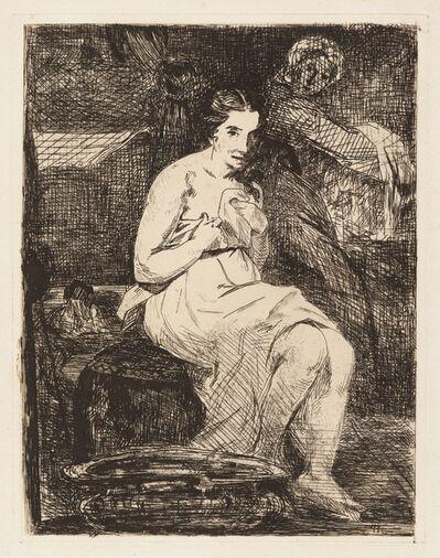 Édouard Manet, 'The Toilette', 1862