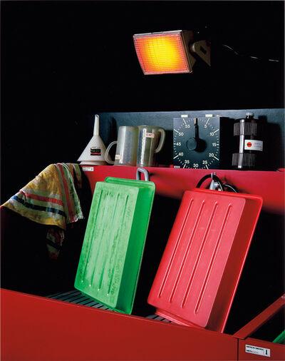 Christopher Williams, 'Fachhochschule Aachen, Fachbereich Gestaltung, Studiengang: Visuelle Kommunikation, Fotolabor für Studenten, Boxgraben 100, Aachen, November 8, 2010', 2010