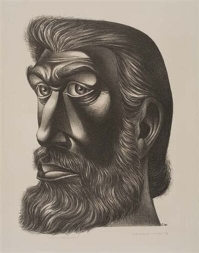 Charles White, 'John Brown', 1949