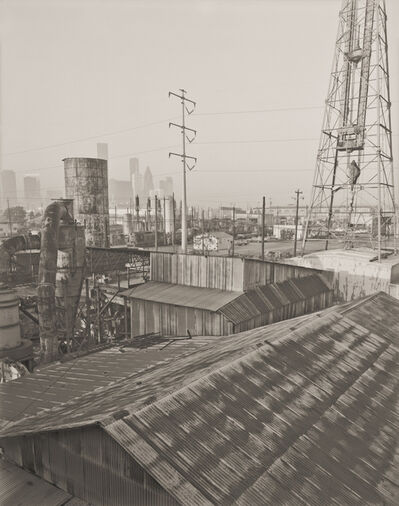 E.F. Kitchen, 'Industrial Rooftops, 5th Ward', 1986