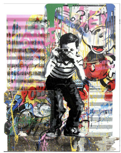 Mr. Brainwash, 'Smile', 2018