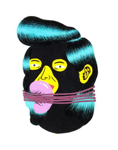 Grip Face, 'Retrato #12 Black Faces', 2016